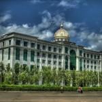 Нетипичная для Китая архитектура