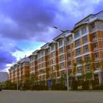 В Хэйхэ ведется строительство новых домов