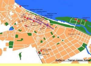 Карта Хэйхэ