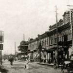 Центральная улица Хэйхэ времен освобождения