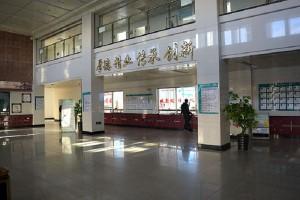 Больница китайской медицины г. Хэйхэ: холл