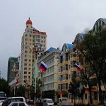 Hanting Express Отель Heihe Heilongjiang park в Хэйхэ