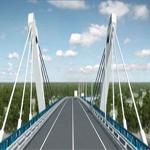 Мост через Амур в Благовещенске