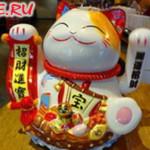 """Пекарня """"Макадо"""" (""""Magado's) в Хэйхэ (довольный кот)"""