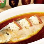 """Ресторан """"Синь Юй"""" в Хэйхэ (рыба в соусе)"""