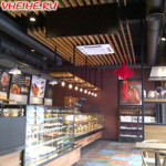 """Пекарня """"Макадо"""" (""""Magado's) в Хэйхэ (барная стойка)"""
