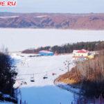 Замерзшее озеро Лежащей коровы в Хэйхэ