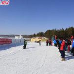 Международная лыжная база 'Лунчжу' близ Хэйхэ