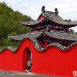 Красивый монастырь в Хэйхэ