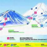 Схема лыжной базы в Хэйхэ