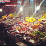 Уличная торговля в Хэйхэ
