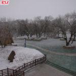 Зимний парк в Хэйхэ